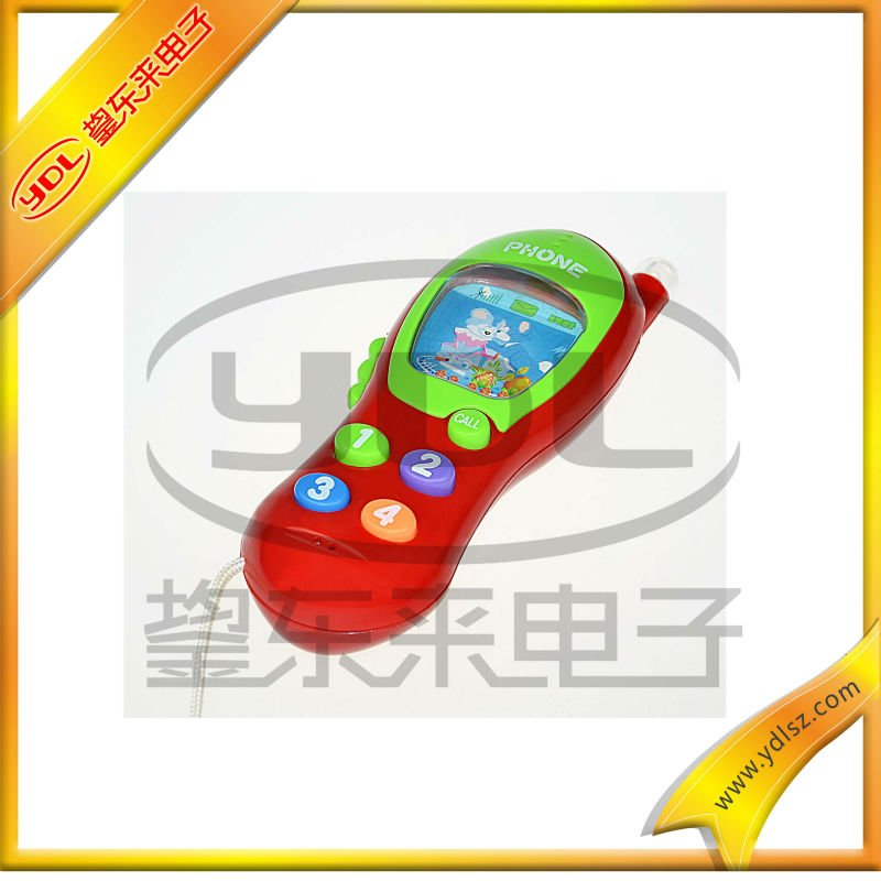 musical phone toy for kids/red toy phone