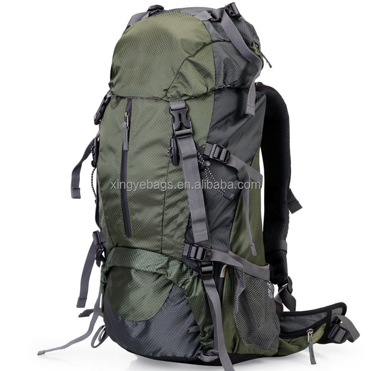 waterproof custom 50l outdoor mountaineering travel hiking backpack