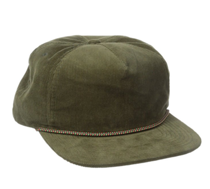 e04d4d0caae Wholesale Custom Blank Rope Hat Plain Corduroy Cap 5 Panel Cap - Buy ...