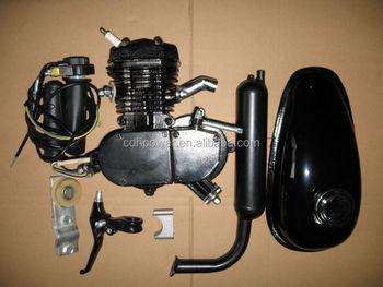 Motorized Bicycle Gas Engine Motor Kit,2 Cycle 80cc Bike Gas ...