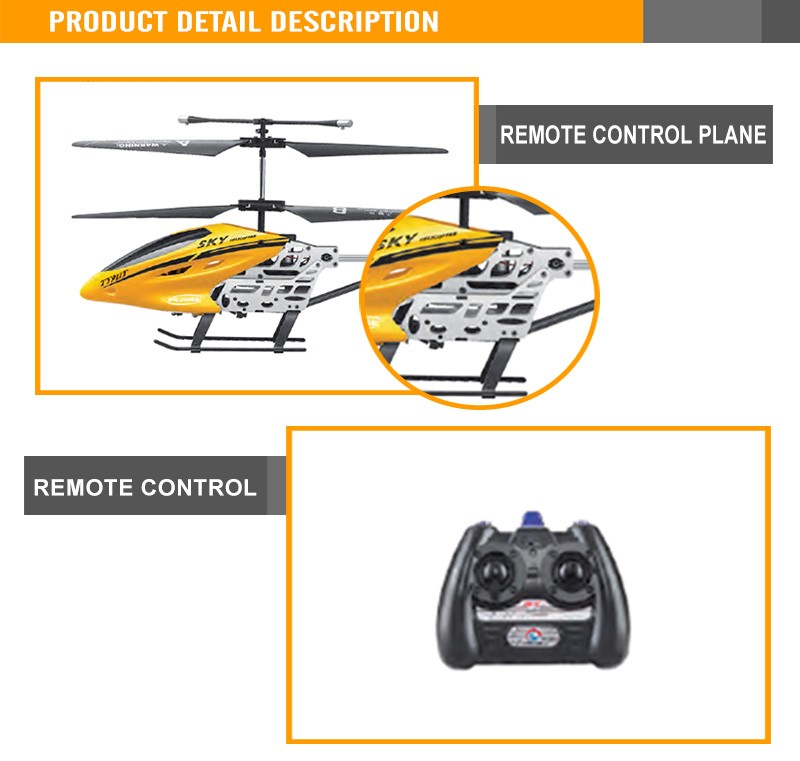 Hot 3.5G with gyro remote control helicopter for sale indoor rc Plane