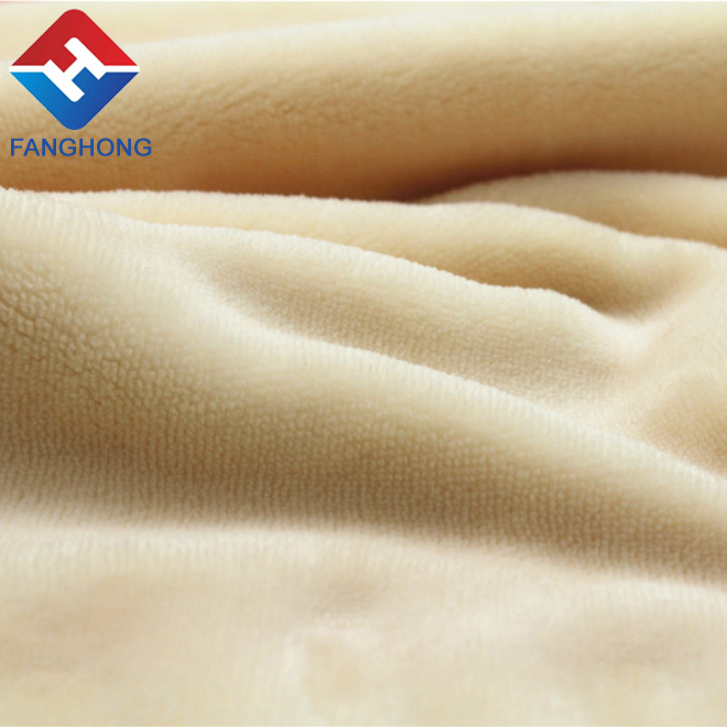 Quality school fabrics romantic fleece blanket real wax wholesale alibaba