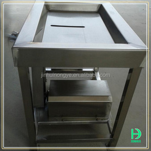 poultry gizzards processing machine chicken stomach gizzards peeling machine