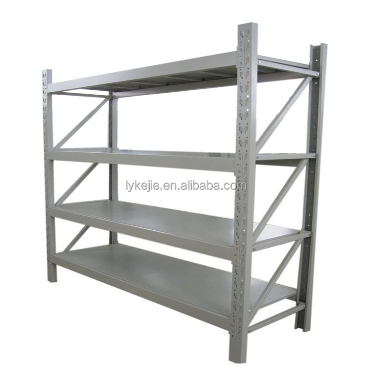 5 Layers Metal Grocery Rack Steel Goods Shelf Warehouse Rack Display Storage Rack for supermarket and Garage