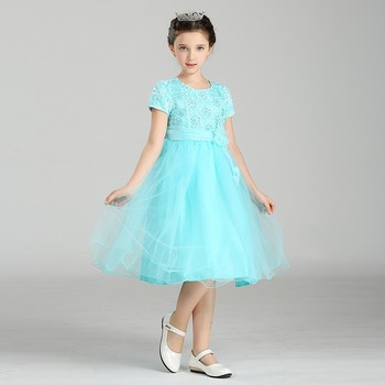 Los Niños De Moda Ropa De Fiesta Encantador Y Moderno Niños Niña Novia Vestidos Niña Flor Lw3010 Buy Precioso Vestidos De Las Niñas Modernasmoda