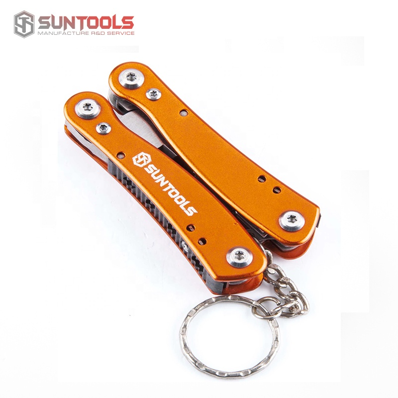 Mini Multi Tool Foldable Pliers With Aluminum Handle
