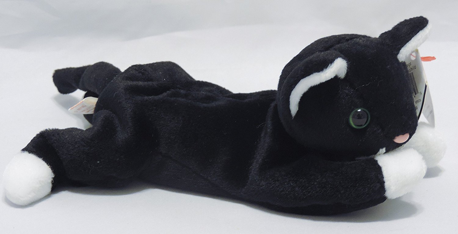 ef8110cc464 Zip the Black Cat - Ty Beanie Babies