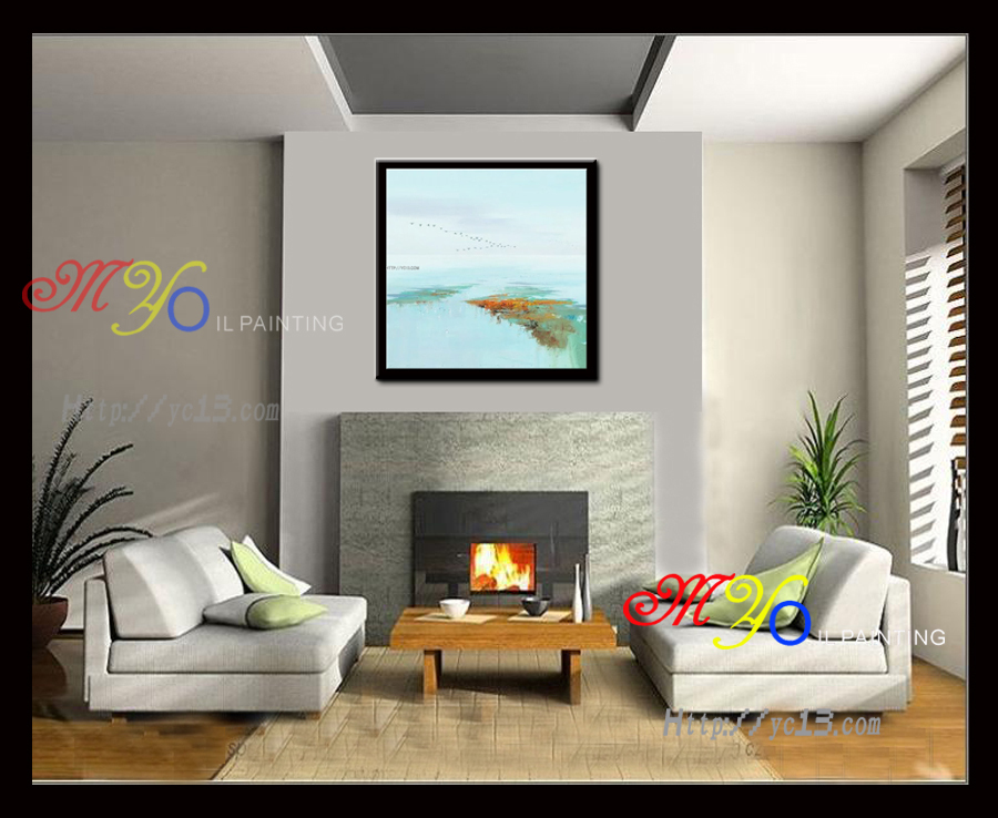 Art Craft Wall Picture Simple Famous Handmade Scenery Paintings