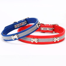 Glow in the Dark Free Sample Dog Collar for Dogs and Cats Christmas Dogs Collars Manufacturer