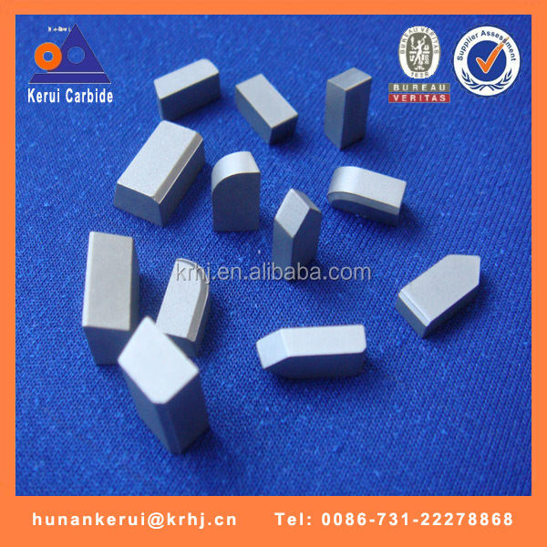 China standard carbide brazed tips type A/B/C/D/E/F , carbide brazed tips