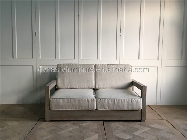 High Quality Classical Recycled Pine Wood Furniture Wooden Sofa