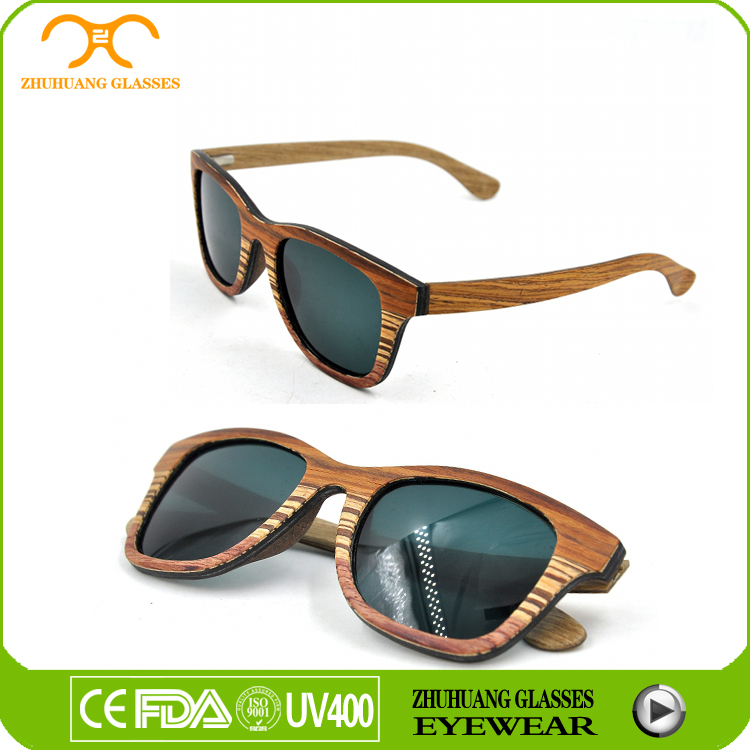 2015 New arrive handmade wood sunglasses,China factory wood sunglasses dropshipping