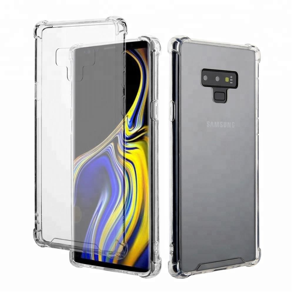 Hot Acrylic PC Case For Samsung Galaxy Note 9 Shockproof Clear Case,For Samsung Note 9 Mobile <strong>Accessories</strong>