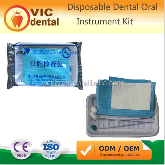 Sterile Medical Disposable Dental Oral Instrument Kit Foshan factory