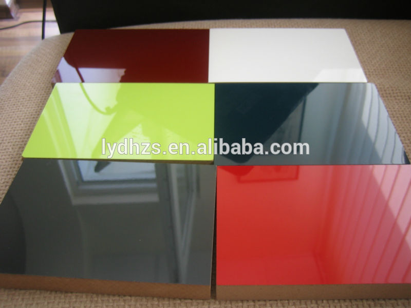 Acrylic Kitchen High Gloss Red Lamination Sheet Buy