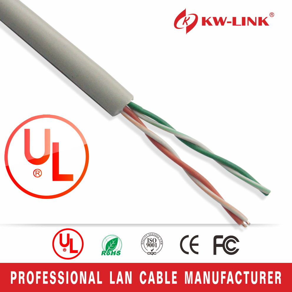 Utp Cat3 Lan Cable High Quality Indoor Telephone Cable - Buy Utp ...