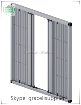 Door fly screens / Plisse polyester insect screen door with aluminum alloy frame  sc 1 st  Alibaba & Door Fly Screens / Plisse Polyester Insect Screen Door With Aluminum ...