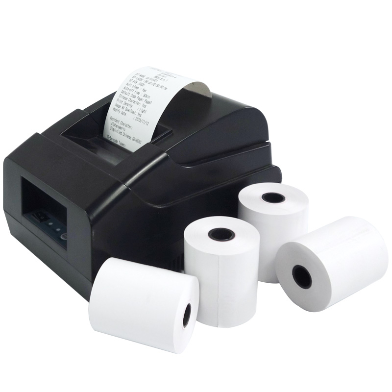 """100 NEW ROLLS  **EXPEDITED PROCESSING** 2-1//4/"""" x 85/' PoS THERMAL RECEIPT PAPER"""
