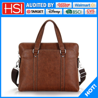 manufacture leather business bag for men