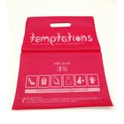 Print Die cut handle plastic bag with full colour print