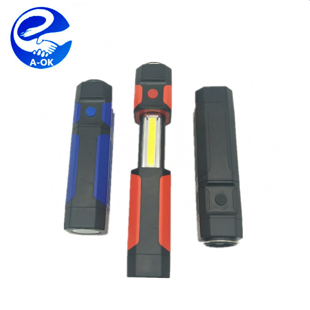 3w LED on the Head 3w COB LED Telescopic Work Light with Magnet