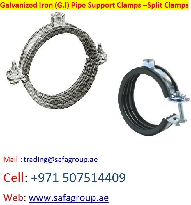 United Arab Emirates Pipe Clamp Split, United Arab Emirates Pipe