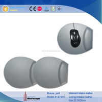 with Wrist Rest Style and Silicon,round /leather/pvc Material custom oppai mouse pad