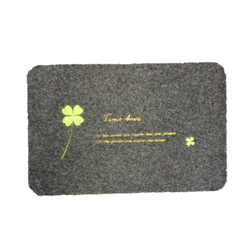 Wholesale Fashion Style Embroidered Door Mat