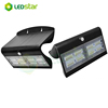 New Upgraded Solar Lights with bright Illumination,Outdoor Motion Sensor Waterproof Wall Light Wireless Security Night Light