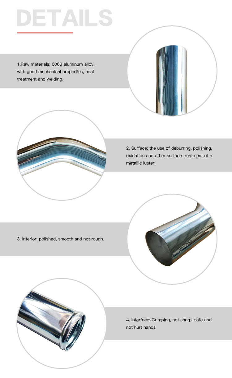 good welding polished aluminum tubing