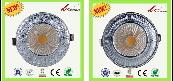 Leimove recessed led recessed downlights white milky for customization-6