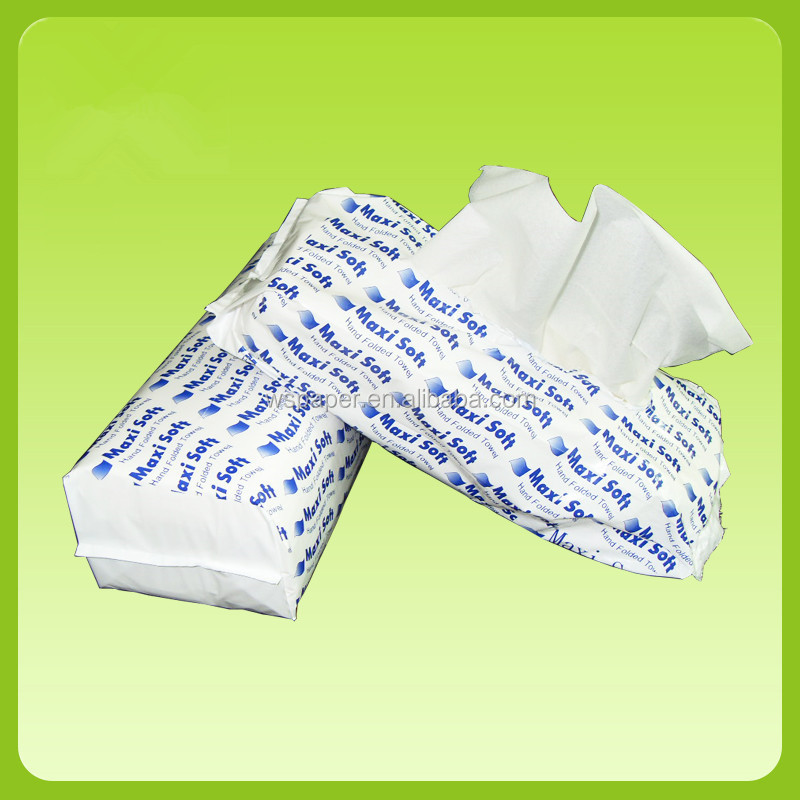 Super soft and white virgin wood pulp Facial Tissue soft pack Wholesale
