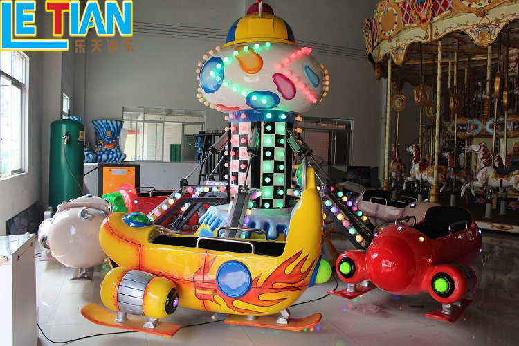 Used Amusement Park Ride For Kid Auto Aircraft Attractions for sale