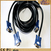 polybag packing 15 pin 3 4 male to male VGA CABLE