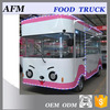promotional factory price food van mobile food cart