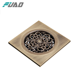 FUAO less expensive floor drain with cleanout