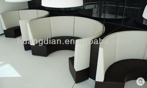 Modern banquette table: booth seating for kitchen with custom ...
