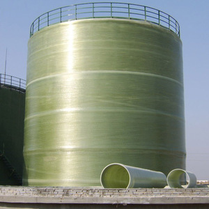 Fiberglass wind equipment large capacity 50000 gallon tank for storage  chemical