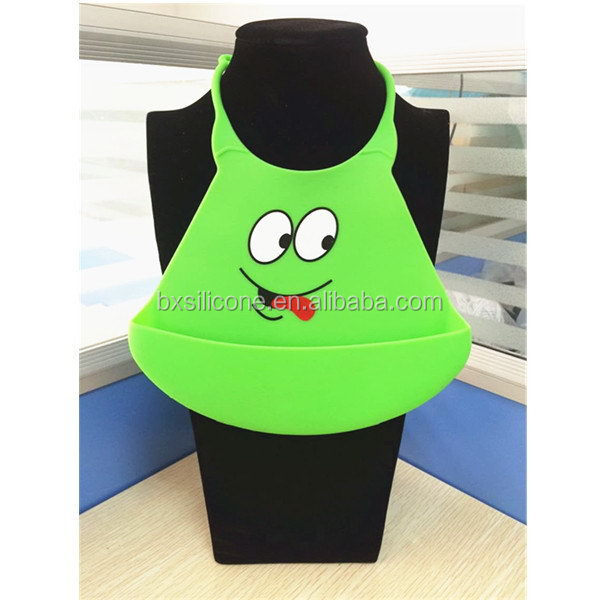 Top grade new products top quality silicone baby bibs wholesale