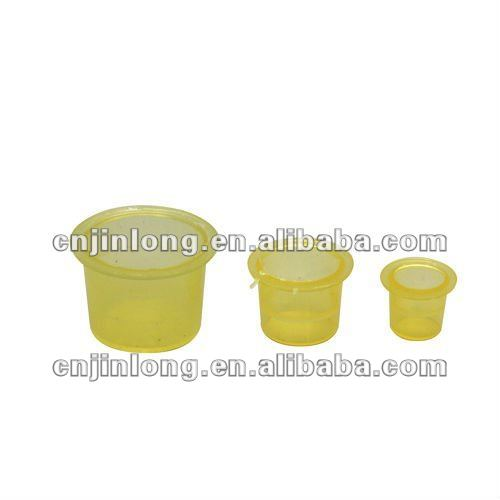 Tattoo pigment cups disposable plastic ink cup