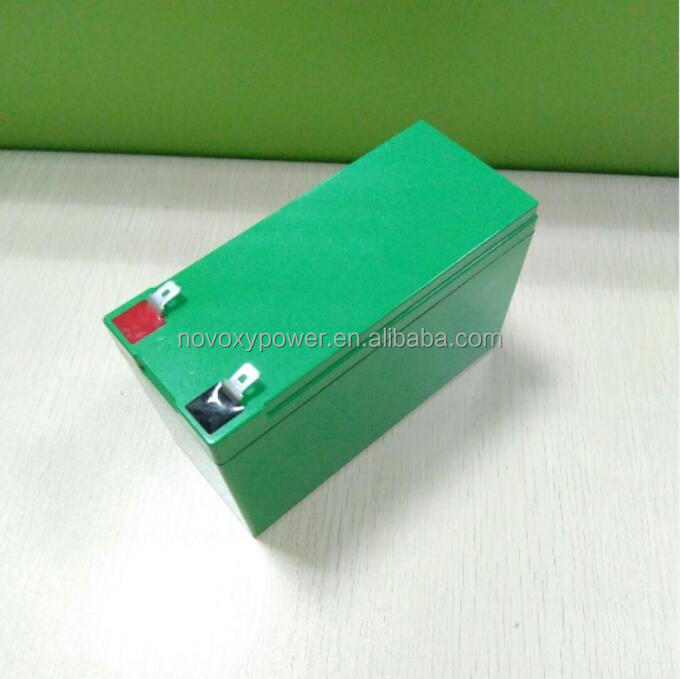 High performance 12V 7.5Ah LiFePO4 Battery for replacement of exide lead acid battery