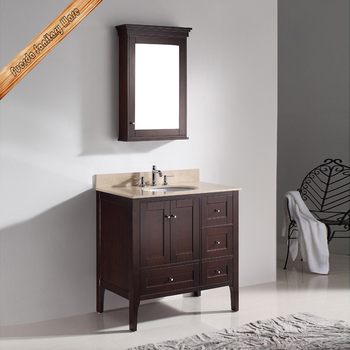 Fed 1037 waterproof solid wood bathroom vanities and tops buy where can i buy bathroom for Where can i buy bathroom cabinets