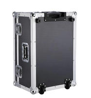 Heavy-duty Hardwares and Aluminum,Plywood,ABS Material aluminum flight case with foam and wheels