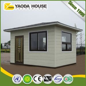 Portable Standard Guard Room Size Mobile Prefabricated Bullet Proof Security Guard House Plans Design