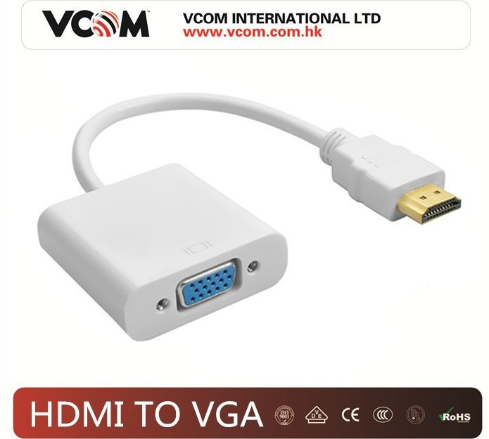VGA to HDMI Cable Adapter 1080P Audio Vga to Hdmi Converter