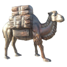 outdoor decor large animal statue bronze camel sculpture for sale