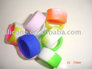 silicone rubber finger ring /thumb ring /finger band