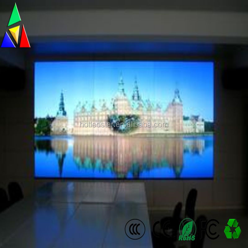 Favorable HD P1.667 Indoor Full Color Advertising Led tv Display Screen