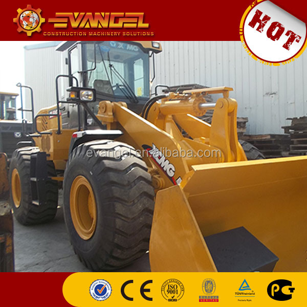 wheel loader buckets ZL50GN with comfortable and safe driving space