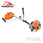 POWERTEC 43cc 1400w gasoline garden tool,brush cutter,Grass Trimmer